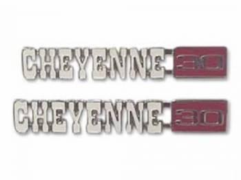 H&H Classic Parts - Fender Emblems Cheyenne 30 - Image 1