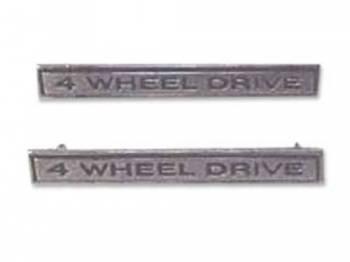 H&H Classic Parts - Fender Emblems 4-Wheel Drive - Image 1