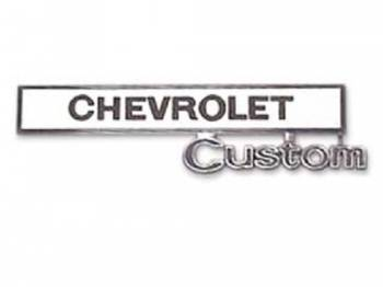 Trim Parts USA - Glove Box Door Emblem Chevrolet Custom - Image 1