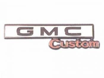Trim Parts USA - Glove Box Door Emblem GMC Custom - Image 1