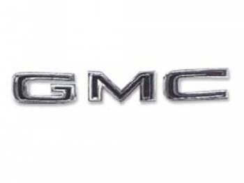 H&H Classic Parts - Hood Letters GMC - Image 1