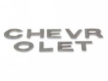 H&H Classic Parts - Tailgate Letters Chevrolet (for Trim Applique) - Image 1
