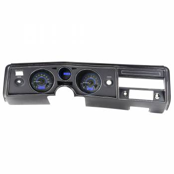 Dakota Digital - VHX Series Gauges Carbon Fiber Blue