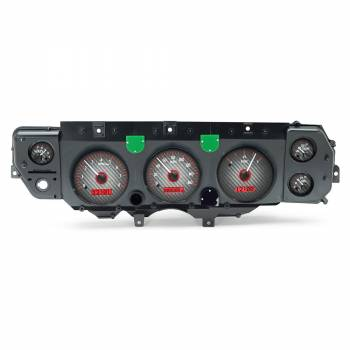 Dakota Digital - VHX Series Gauges Carbon Fiber Red
