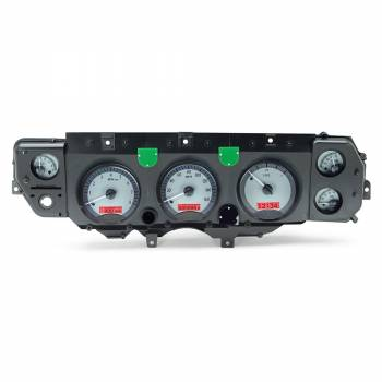 Dakota Digital - Dakota Digital VHX Gauge System Silver Alloy Red - Image 1