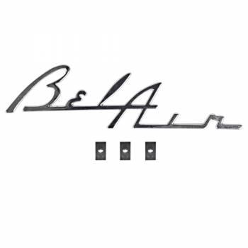 H&H Classic Parts - Belair Dash Script (Chrome) - Image 1
