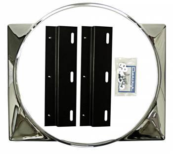 DKM Manufacturing - Chrome Fan Shroud - Image 1