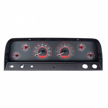Dakota Digital - VHX Series Gauges Carbon Fiber Red - Image 1