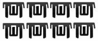 TW Enterprises - Upper Side Revel Clip Set