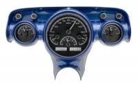 Dakota Digital Gauge Kits - Dakota VHX Gauge Kits - Dakota Digital - VHX Series Gauges Black Alloy White