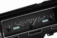 Dakota Digital Gauge Kits - Dakota Digital VHX Gauge Kits - Dakota Digital - VHX Series Gauges Black Alloy White