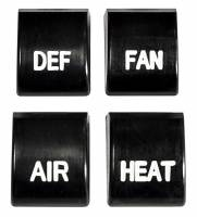 Factory AC/Heater Parts - Heater/AC Control Knobs & Levers - H&H Classic Parts - Heater Control Knobs