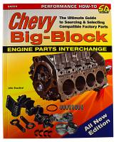 Classic Tri-Five Parts Online Catalog - CarTech Automotive Manuals - Chevy Big Block Parts Interchange Manual