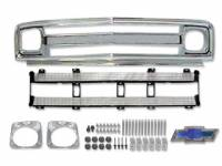 Grille Parts - Grille Kits - H&H Classic Parts - Grille Kit with Chrome Inner Grille