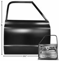 Sheet Metal Body Panels - Doors - Dynacorn - Door Shell RH (Smoothie)