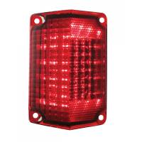 Taillight Parts - Taillight LED Lens and Conversion Kits - United Pacific - LED Taillight Lens LH