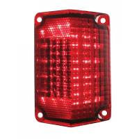 Taillight Parts - Taillight LED Lens and Conversion Kits - United Pacific - LED Taillight Lens RH