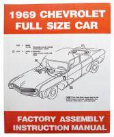 Classic Impala, Belair, & Biscayne Restoration Parts - DG Automotive Literature - Factory Assembly Manual