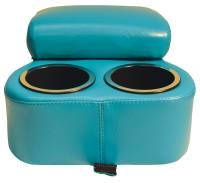 Bench Seat Shorty Console Turquoise