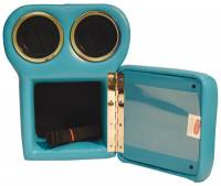 Classic Consoles - Bench Seat Shorty Console Turquoise - Image 4