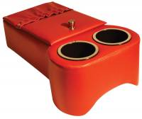 Classic Consoles - Trans Hump Console Red