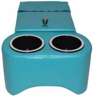 Classic Consoles - Trans Hump Console Turquoise - Image 2