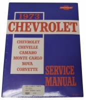 Classic Camaro Restoration Parts - DG Automotive Literature - Shop Manual