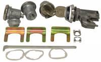 Locks & Lock Sets - Ignition/Door/Trunk Lock Sets - PY Classic Locks - Door Trunk & Glove Box Lock Set