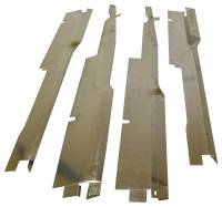 Interior Parts & Trim - Sill Plates - Dynacorn - Wire Harness Sill Covers