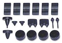 Rubber Bumpers - Body Bumper Kits - H&H Classic Parts - Body Bumper Kit