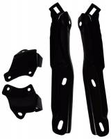 Chrome Bumpers - Bumper Brackets - OER (Original Equipment Reproduction) - Front Bumper Bracket Set