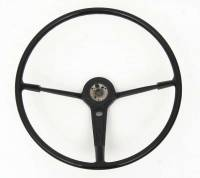Steering Column Parts - Steering Wheels - H&H Classic Parts - Steering Wheel Black
