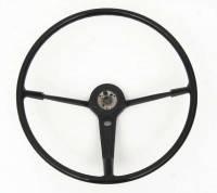 Steering Column Parts - Steering Wheels - H&H Classic Parts - Steering Wheel Black