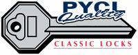 PY Classic Locks - Exterior Restoration Parts & Trim - Trunk Parts