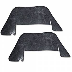 A-Frame Dust Shields