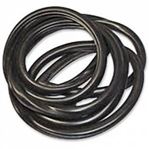 Tri-Five - Weatherstriping & Rubber Parts - Back Glass Rubber Seals