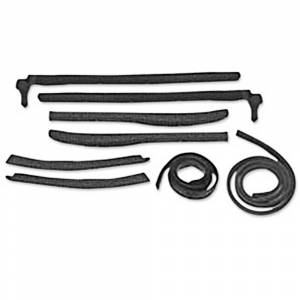 Classic Tri-Five Parts Online Catalog - Weatherstriping & Rubber Parts - Roof Rail Seals