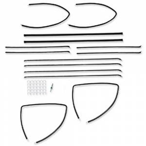 Tri-Five - Weatherstriping & Rubber Parts - Window Felt Kits