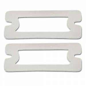 Weatherstripping & Rubber Restoration Parts - Lens Gasket Sets - Parklight Lens Gaskets