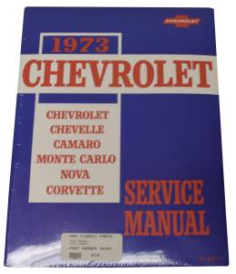 Classic Camaro Parts Online Catalog - Books & Manuals - Shop Manuals