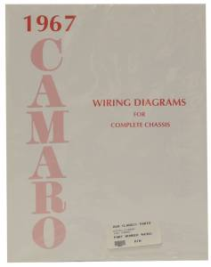 Classic Camaro Parts Online Catalog - Books & Manuals - Wiring Diagrams