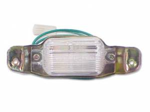 Exterior Restoration Parts & Trim - License Plate & Light Parts - License Plate Light Parts