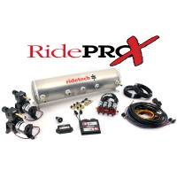New Products - 1962-74 Nova/Chevy II - RideTech - Ride Pro X 5-Gallon Analog Control System with BIG RED Valves
