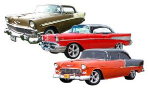 Trifive Cars (1955-57 Chevy)