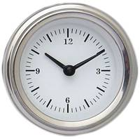 Classic Instrument Gauge Kits - BEL-ERA Gauge Kits - Classic Instruments - Clock Kit White Hot Series