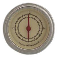 Classic Instrument Gauge Kits - BEL-ERA 2 Gauge Kits - Classic Instruments - Clock Kit Antique Series