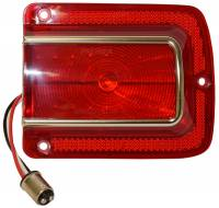 Classic Chevelle, Malibu, & El Camino Restoration Parts - United Pacific - LED Taillight Lens RH