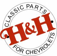 H&H Classic Parts - Rear Curved Quarter Glass RH (Clear)