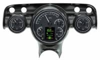 Classic Tri-Five Parts Online Catalog - Dakota Digital - HDX Gauge System Black Alloy