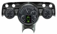 Tri-Five - Dakota Digital - HDX Gauge System Black Alloy